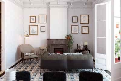 Уникальная отреставрированная квартира в центре Барселоны